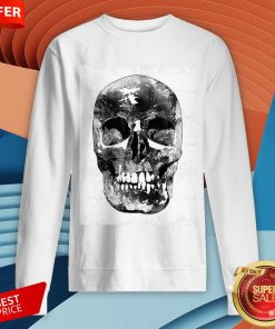 Black And White Skull Day Of Dead Dia De Los Muertos Sweatshirt