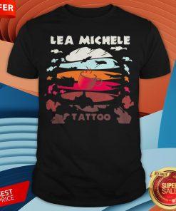 Coffee lea Michele Tattoo Vintage Shirt