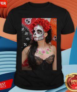 Dios Des Los Muertos- Sugar Skulls Day Of Dead Shirt