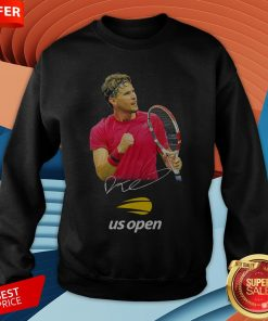 Dominic Thiem Champion Us Open Signature SweatshirtDominic Thiem Champion Us Open Signature Sweatshirt