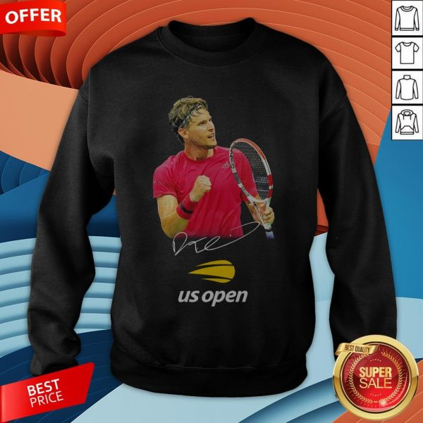Dominic Thiem Champion Us Open Signature SweatshirtDominic Thiem Champion Us Open Signature Sweatshirt