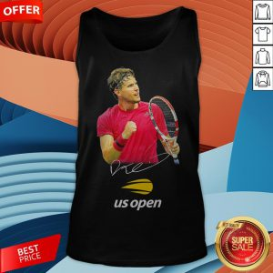 Dominic Thiem Champion Us Open Signature Tank Top