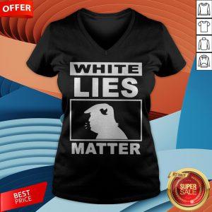 Donald Trump White Lies Matter V-neck