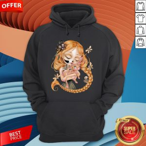 Enchanted Kiss Of The Undead Beauty Day Of The Dead Hoodie