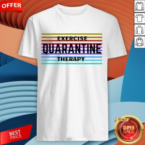 Exercise Quarantine Therapy Vintage T-Shirt