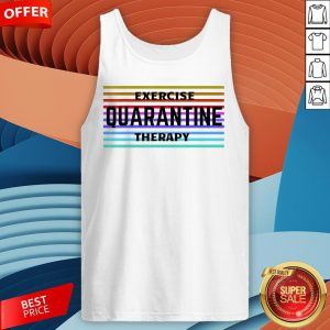 Exercise Quarantine Therapy Vintage T-Tank Top
