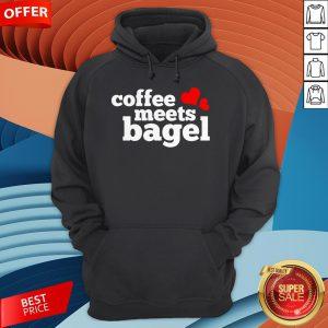 Funny Coffee Meets Bagel Hoodie