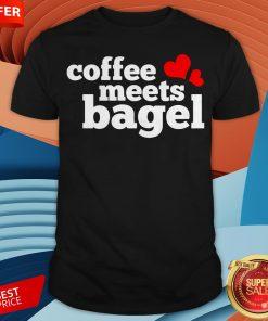 Funny Coffee Meets Bagel Shirt