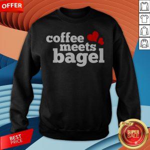 Funny Coffee Meets Bagel Sweatshirt