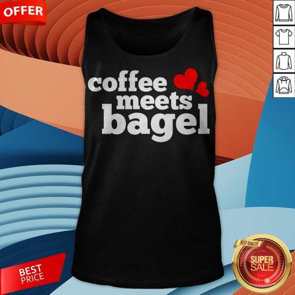 Funny Coffee Meets Bagel Tank TopFunny Coffee Meets Bagel Tank Top