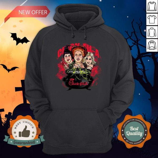 Halloween Hocus Pocus Witch Chick Fil A Hoodie
