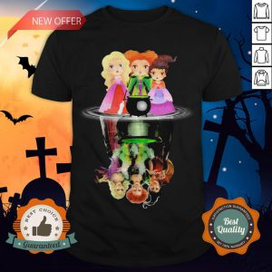 Halloween Hocus Pocus Witch Water Reflection Shirt