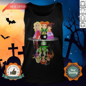 Halloween Hocus Pocus Witch Water Reflection Tank Top