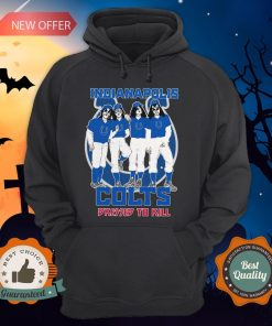 Indianapolis Colts Dressed To Kill HoodieIndianapolis Colts Dressed To Kill Hoodie