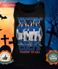 Indianapolis Colts Dressed To Kill Tank Top