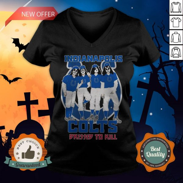 Indianapolis Colts Dressed To Kill V-neck