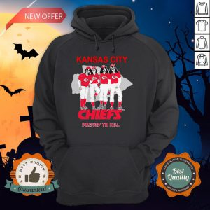 Kansas City Chiefs Dressed To Kill Hoodie