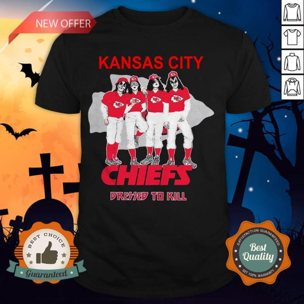 Kansas City Chiefs Dressed To Kill Shirt