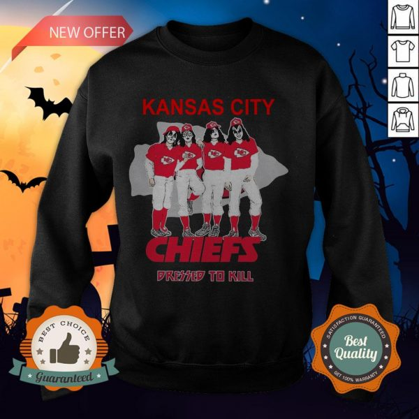 Kansas City Chiefs Dressed To Kill Sweatshirt