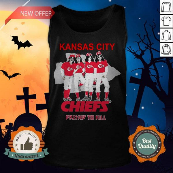 Kansas City Chiefs Dressed To Kill Tank Top