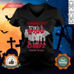 Kansas City Chiefs Dressed To Kill V-neckKansas City Chiefs Dressed To Kill V-neck