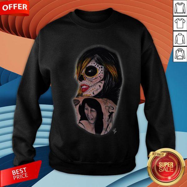 Kat Von D Day Of The Dead T-Sweatshirt