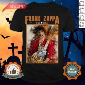 Krissry Men's Frank Zappa 1940 1993 Shirt