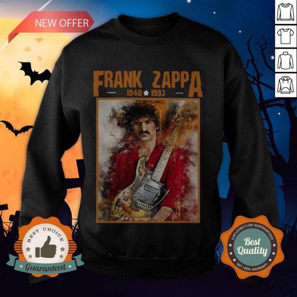 Krissry Men's Frank Zappa 1940 1993 Sweatshirt