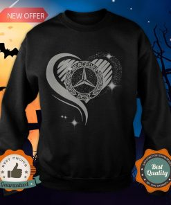 Love Heart Mercedes Benz Sweatshirt