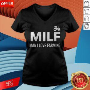 Milf Man I Love Farming V-neck
