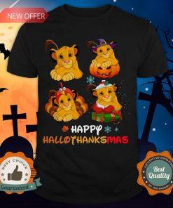 Nice Lions Happy Hallothanksmas Shirt
