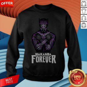 RIP Marvel Black Panther Chadwick Boseman Wakanda Forever Sweatshirt
