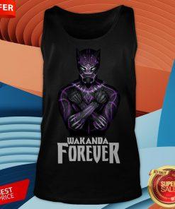 RIP Marvel Black Panther Chadwick Boseman Wakanda Forever Tank Top