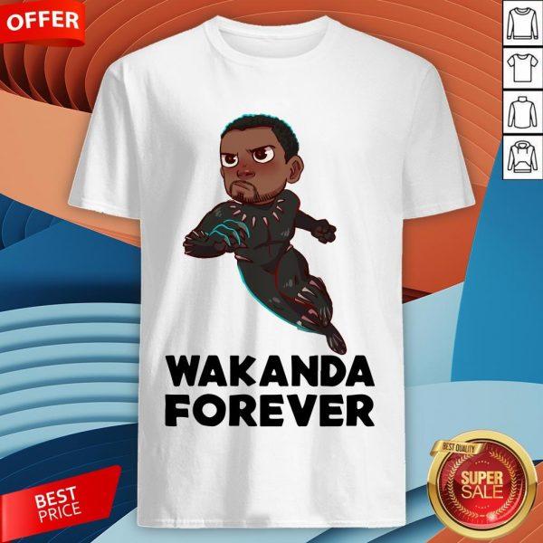 Rip Wakanda King T'Challa Black Panther Chadwick Boseman 1977 2020 Signature Shirt