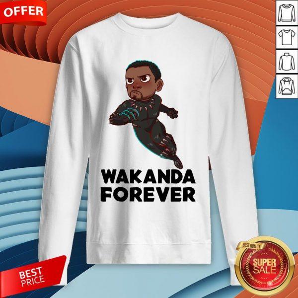 Rip Wakanda King T'Challa Black Panther Chadwick Boseman 1977 2020 Signature Sweatshirt