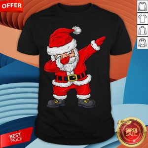Cute Christmas Dabbing Santa Claus Xmas Shirt
