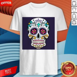 Sugar Candy Skulls Day Of The Dead T-Shirt