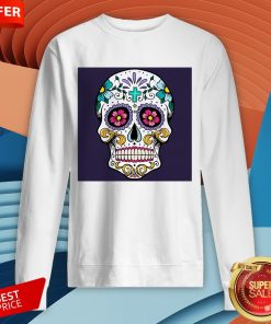 Sugar Candy Skulls Day Of The Dead T-SweatshirtSugar Candy Skulls Day Of The Dead T-Sweatshirt