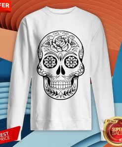Sugar Skull Tattoos Day Of The Dead SweatshirtSugar Skull Tattoos Day Of The Dead Sweatshirt
