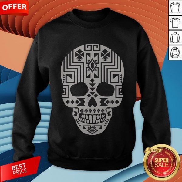 Sugar skulls Pullover Simple SweatshirtSugar skulls Pullover Simple Sweatshirt