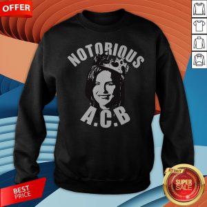Premium Amy Coney Barrett Notorious ACB Sweatshirt