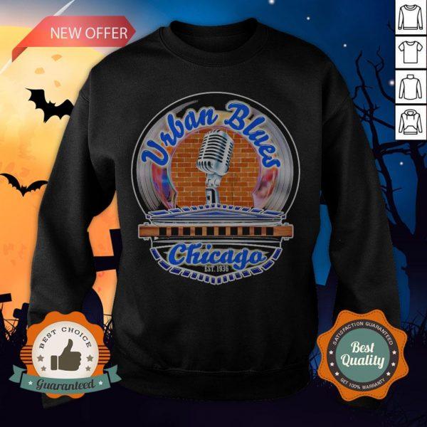 Urban Blues Chicago Est 1936 SweatshirtUrban Blues Chicago Est 1936 Sweatshirt