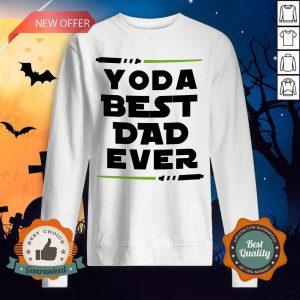 Yoda Best Dad Ever Coffee Mug Sweatshirt
