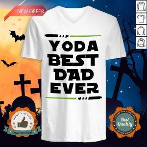 Yoda Best Dad Ever Coffee Mug V-neckYoda Best Dad Ever Coffee Mug V-neck