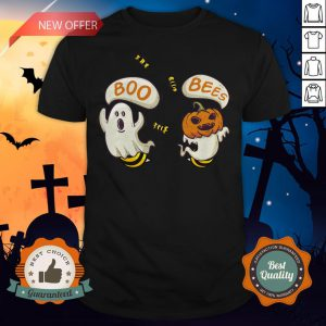Boo Ghost Bees Pumpkin Halloween Shirt