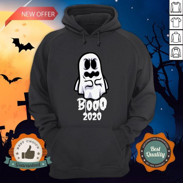 Booo 2020 Funny Happy Halloween Day Hoodie
