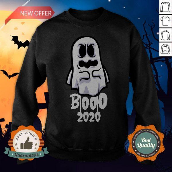 Booo 2020 Funny Happy Halloween Day Sweatshirt