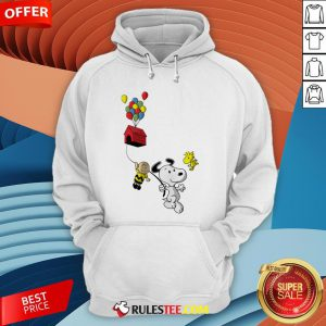 Snoopy And Charlie Brown Woodstock Balloon Hoodie - Design By Rulestee.com