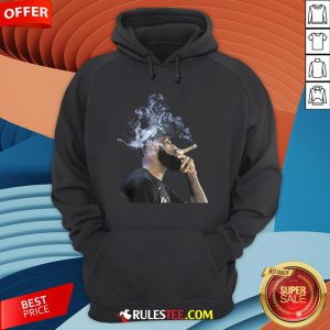 Pretty Lebron James Smoking Cigar Hoodie - Design By Rulestee.com