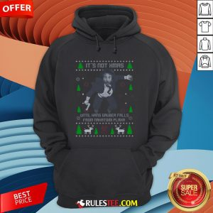 It's Not Xmas Until Hans Gruber Fall From Nakatomi Plaza Christmas Hoodie - Design By Rulestee.com
